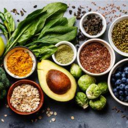 Fruits, Vegetables & Legumes